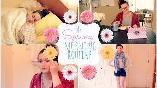 My Spring Morning Routine 2014 | Aline Thumbnail