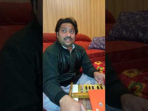 Gilla teda kariye live sing Sharafat Ali Khan Baloch at home with Aamir Ali Khan