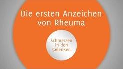 Die ersten Anzeichen von Rheuma