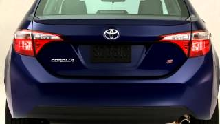 2014 Toyota Corolla S blue crush exterior color