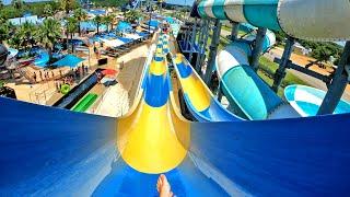 """Jet Stream"" Dueling Kamikaze Water Slides at Splashway"