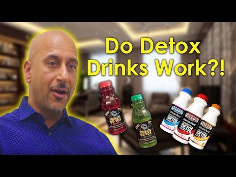 Drug detox drinks for drug tests vs other detox methods?