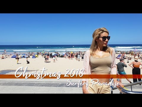 Christmas 2018 at the Beach 🎄👙 | Surfers Paradise, Australia