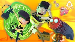 RICK AND MORTY VR! ❱ A Life Well Lived. ❱ Rick and Morty VR Simulator (HTC Vive Virtual Rick-ality)