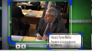 Repeat youtube video PMG 21 2013 Horacio Torres Molinai   ARCHIVO NACIONAL DE LA MEMORIA