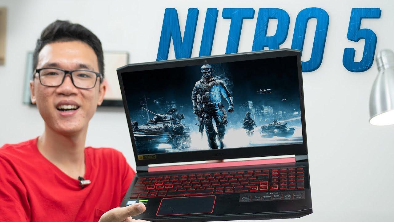 Laptop chơi game cực ngầu: Acer Nitro 5 2019