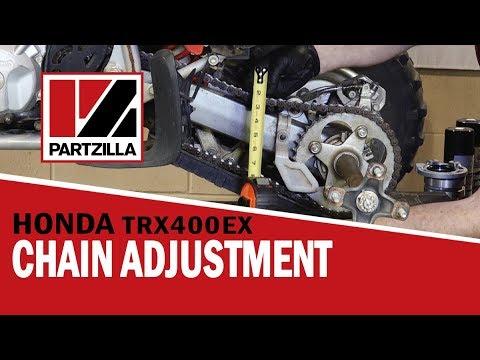 How to Adjust and Clean an ATV Chain | Honda TRX | Partzilla.com