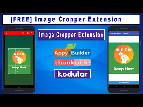 Image Cropper Extension for for Kodular | Image Rotate