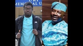 YOU SHALL NOT LACK Baba Suwe39s first son Adesola Omidina thanks Nigerians for helping his father