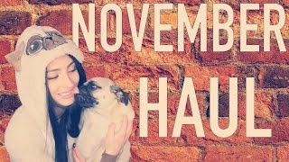 November Haul   Topshop, Brandy Melville, Shape Up, Etsy