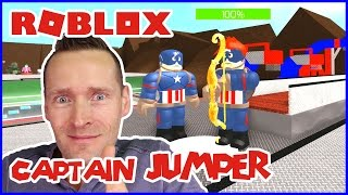 Captain JUMPER / Roblox Superhero Tycoon