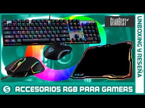 Accesorios RGB para PC Gamers