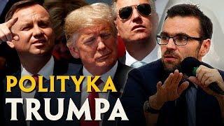 ZACHOWANIE TRUMPA to NIE BUFONADA, a celowa polityka | Jacek Bartosiak