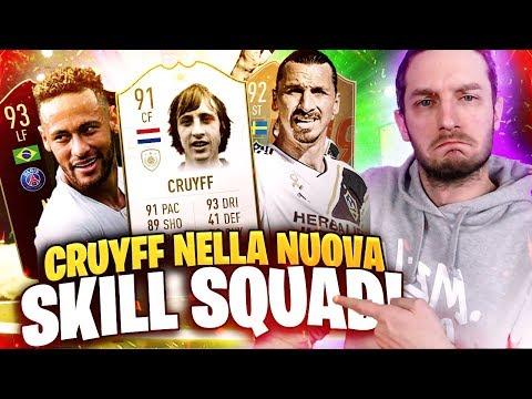 CRUYFF ARRIVA NELLA NUOVA SKILL-SQUAD PER LA WL + FUT CHAMPIONS REWARDS! [FIFA 19]