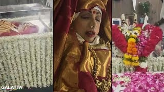 Sridevi's Final Moments Before Funeral #ripsridevi #gonetoosoon #lifeisfragile