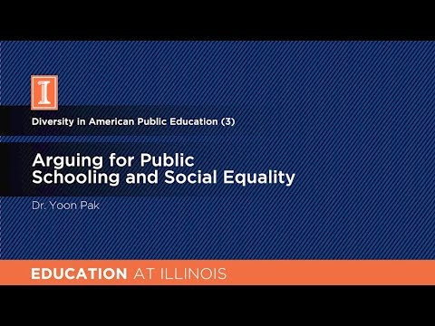 Arguing for Public Schooling and Social Equality