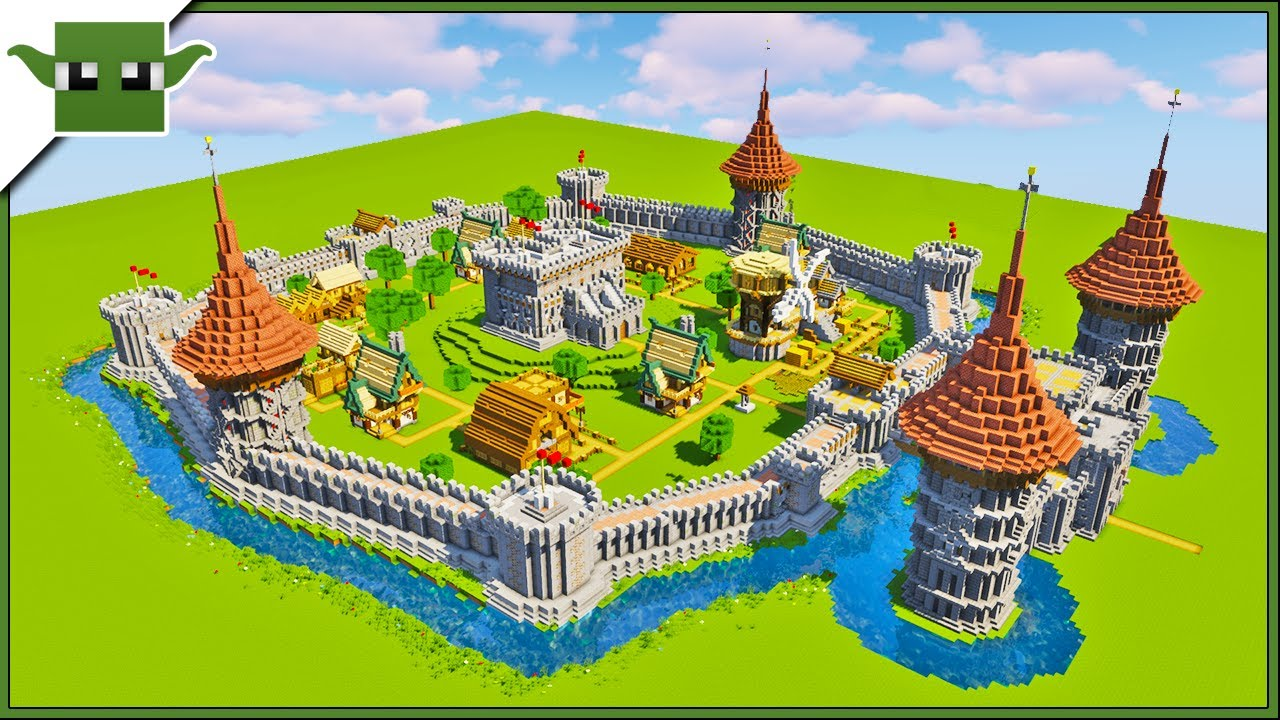 15 Minecraft Castle Essentials Historical Guide Youtube