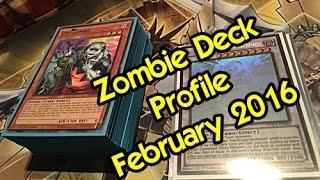Yu-Gi-Oh! Zombie Deck Profile February 2016