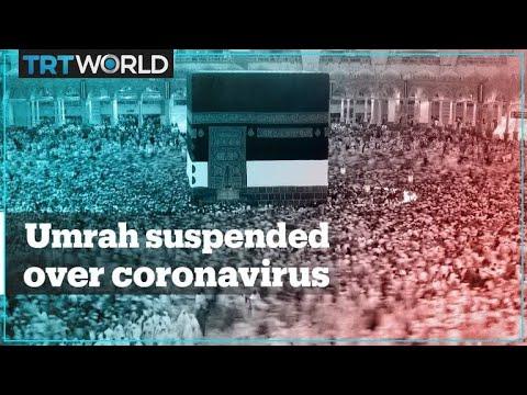 Saudi Arabia suspends pilgrimages over coronavirus outbreak