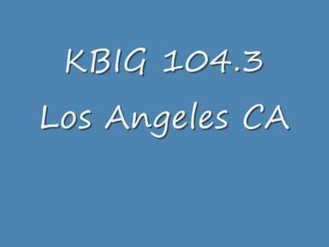 KBIG 104 3 Los Angeles CA  1987  Anita Garner