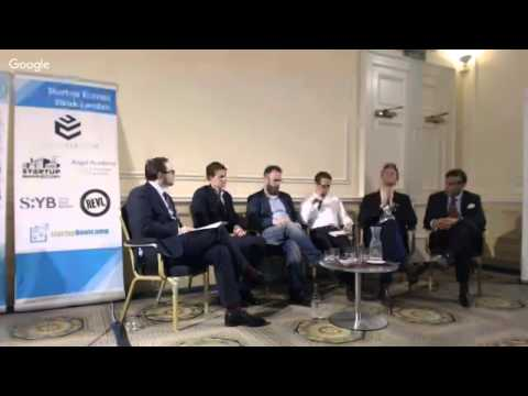 Startup Europe Week - London: Day 1 - Governmental Support