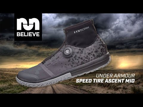 pretty nice 3a441 77e7f Under Armour Speed Tire Ascent Mid Performance Review - YouTube