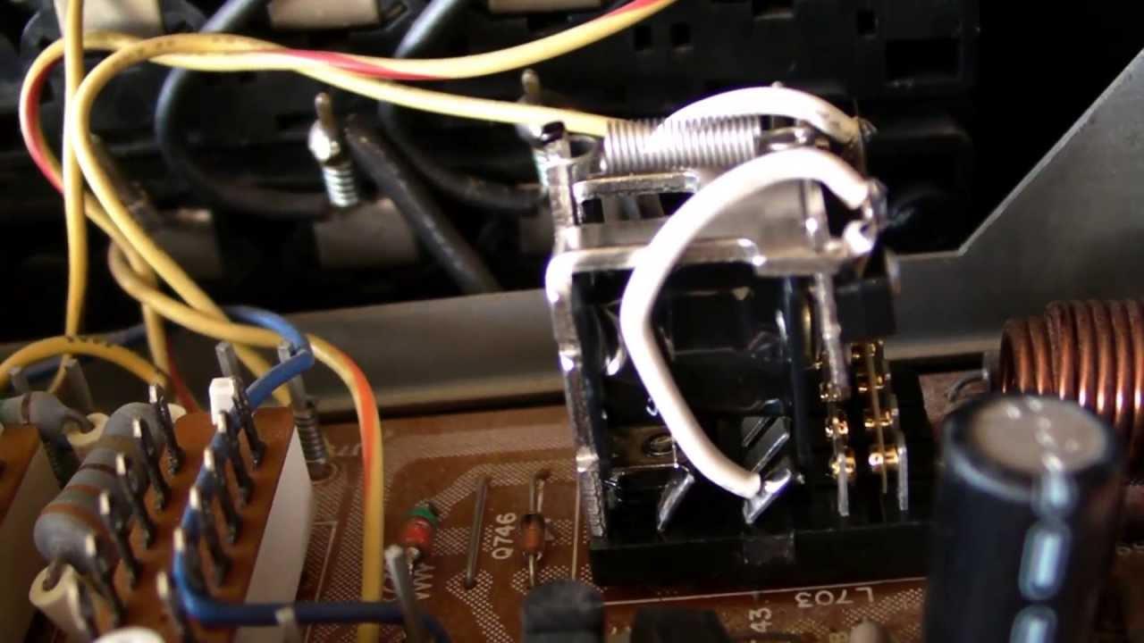Marantz 2225 RECEIVER  PROTECTION output relay.