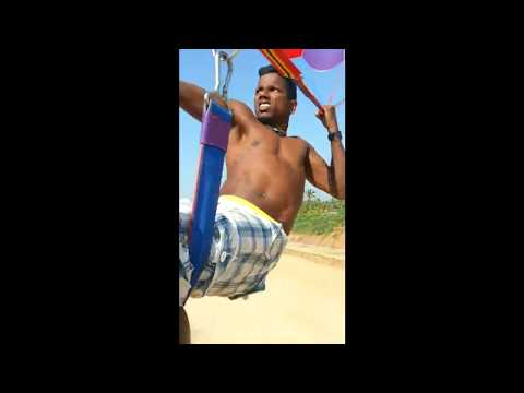 (;из Гоа с улыбками:) полёт на парашюте над северным Гоа