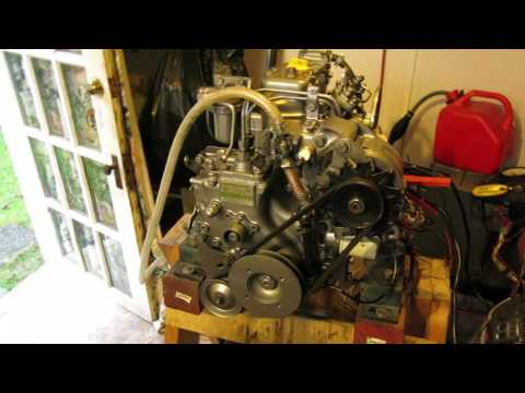 Yanmar 2GM20F RPM TEST by Curtis McDaniel