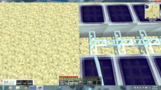 How to make a quarry using solar panels in Tekkit tutorial!!!