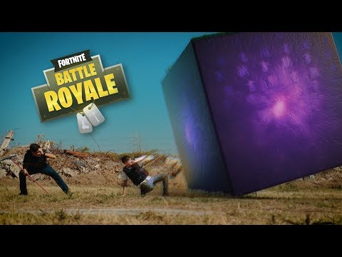 The Real Fortnite CUBE