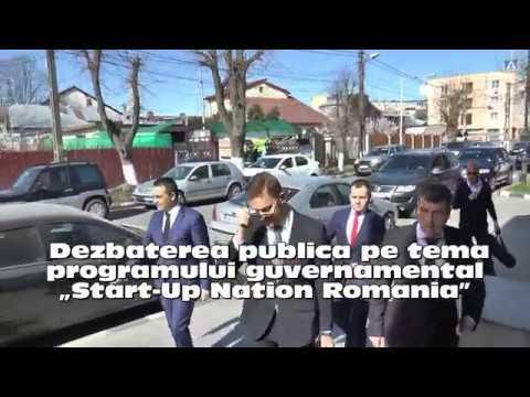 """Start-Up Nation Romania"" 24/03/2017"