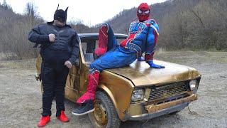 Spider-Man i Batman u Yugi 45