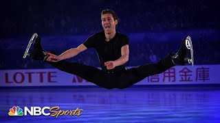 Jason Brown soars into second place with terrific Nationals short program | NBC Sports
