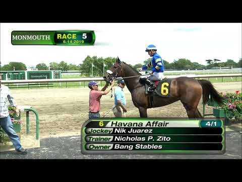 video thumbnail for MONMOUTH PARK 6-14-19 RACE 5