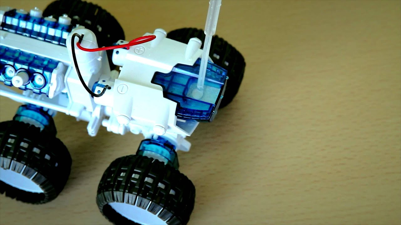 Salt Water Powered Car From Letterbox Youtube