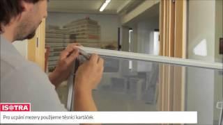 Sítě do dřevěných eurooken - utěsnění spodního rámu