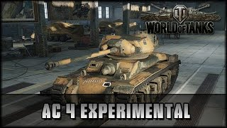 World of Tanks - Live: AC 4 Experimental - Premium [ deutsch | gameplay ]