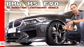 2018 BMW M5 F90 AC Schnitzer Lightweight Wheels