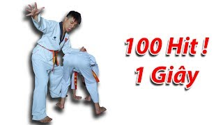 NTN - Thử Đấm 100 Hit Trong Vòng Một Giây ( 100 Hit One Second )