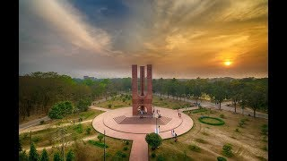 Beautiful Campus of Jahangirnagar University