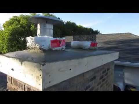 Chimney And Crown Repair Replacement Diy Youtube