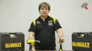 Обзор инструмента DeWALT : Шуруповерты 10.8 В и 18 В