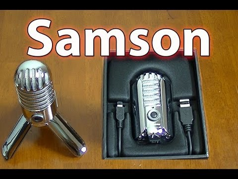 samson meteor usb microphone review unboxing youtube. Black Bedroom Furniture Sets. Home Design Ideas