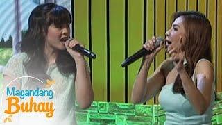 """Magandang Buhay: Janella, Jenine sing """"I Turn To You"""""""