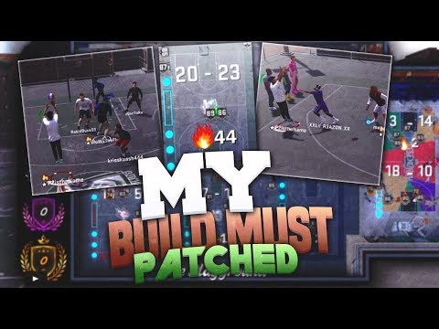 MY *NEW* BUILD MUST BE PATCHED! THE NEXT OVERPOWERED BUILD IN NBA 2K18