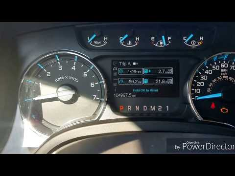 2011 3.5 Ecoboost F150 Fuel Economy After Silencers Removed.