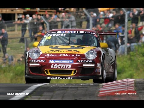 race-media.tv Onboard Classix: Sean Edwards Porsche GT3 Cup Porsche World Cup 2011