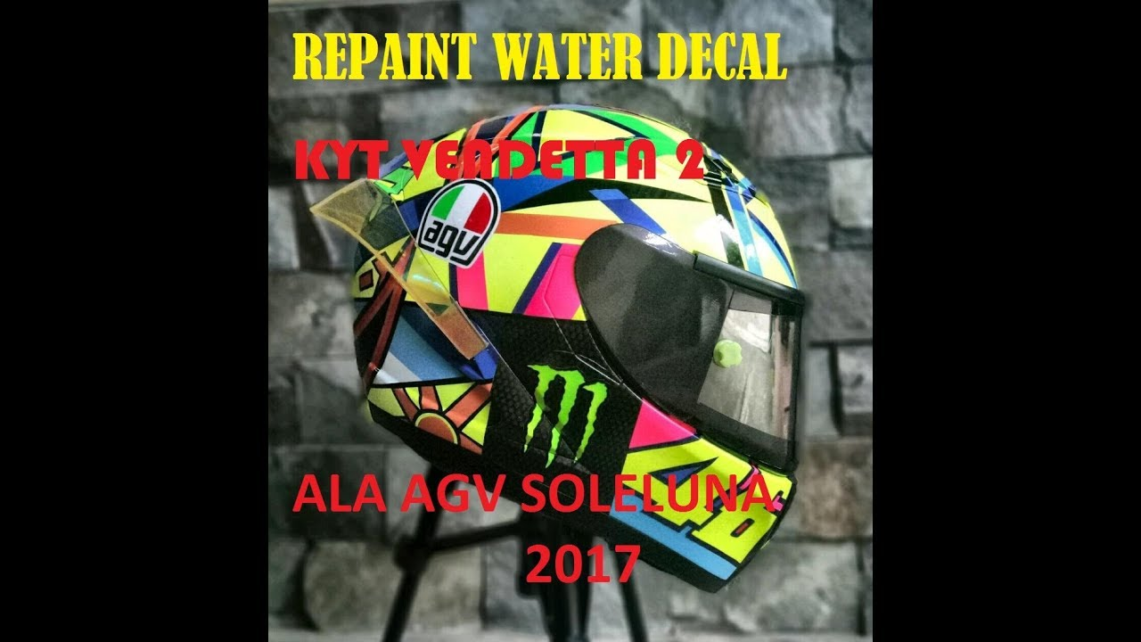 Water decal helm kyt vendetta 2
