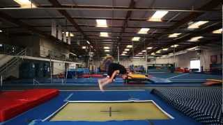 trampoline tutorials how to front flip the basics